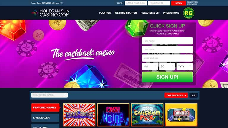 Mohegan Sun Online review