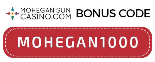 mohegan sun bonus code