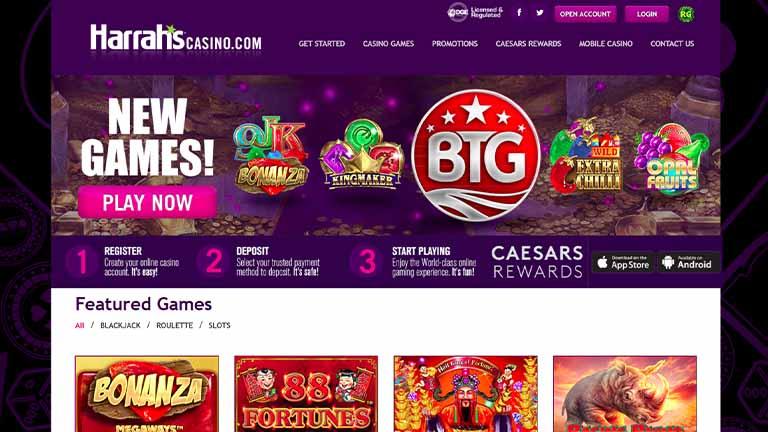 HARRAHS casino review