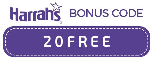 HARRAHS bonus code